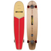 "HAMBOARDS COMPLETE - 3' 9"" HUNTINGTON HOP - LIFEGUARD RED"