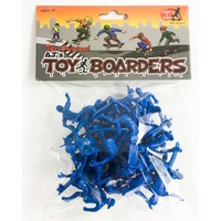 TOYBOARDERS SKATE 1 TOY SKATEBOARDERS - BLUE - 24 PACK