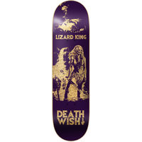 DEATHWISH SKATEBOARD DECK 7.875 LIZARD KING COLOURS OF DEATH