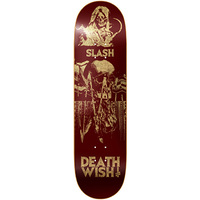 DEATHWISH SKATEBOARD DECK 8.125 SLASH COLOURS OF DEATH II