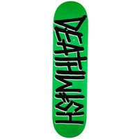 DEATHWISH SKATEBOARD DECK 7.75 DEATHSPRAY NEON GREEN