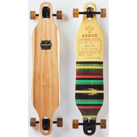 "ARBOR COMPLETE LONGBOARD SKATEBOARD - AXIS - FLAGSHIP 40"" 2017"