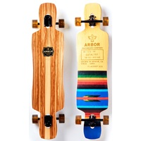 "ARBOR COMPLETE LONGBOARD SKATEBOARD - CATALYST FLAGSHIP 40"" 2017"