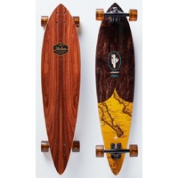 ARBOR COMPLETE LONGBOARD SKATEBOARD - FISH GROUNDSWELL - 37""