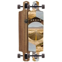 ARBOR COMPLETE LONGBOARD SKATEBOARD - DROPCRUISER PC PHOTO - 38""