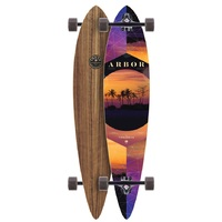 ARBOR COMPLETE LONGBOARD SKATEBOARD - TIMELESS PHOTO - 42""