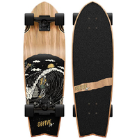 OBFIVE KENTARO DREAD SLED SWALLOW CRUISER SKATEBOARD COMPLETE