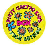 DGK SKATEBOARD STICKER - DAISY