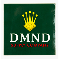 DIAMOND SUPPLY CO STICKER - CROWN - GREEN