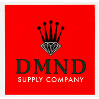 DIAMOND SUPPLY CO STICKER - CROWN - RED