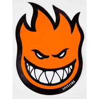 SPITFIRE - FIREBALL STICKER LARGE - ORANGE