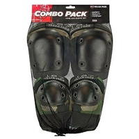 187 COMBO PACK - KNEE AND ELBOW PADS - SIZE SMALL TO MEDIUM - CAMO
