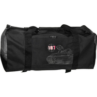 187 DUFFEL BAG - WAR MACHI - BLACK