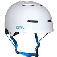 DRS SKATE SCOOTER BMX HELMET - WHITE - L/XL - APPROVED ADJUSTABLE