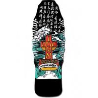 "DOGTOWN AARON MURRAY 10.25"" OLD SCHOOL BLACK SKATEBOARD DECK"