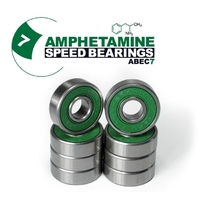 AMPHETAMINE SKATEBOARD BEARINGS - ABEC 7