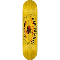 ANTI HERO SKATEBOARD DECK - TRUCKING YELLOW - 8.25