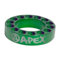 APEX SCOOTER BAR RISER SPACER - GREEN 10MM