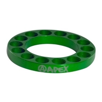 APEX SCOOTER BAR RISER SPACER - GREEN 5MM