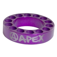 APEX SCOOTER BAR RISER SPACER - PURPLE 10MM