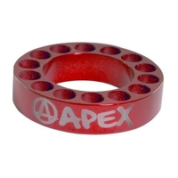 APEX SCOOTER BAR RISER SPACER - RED 10MM