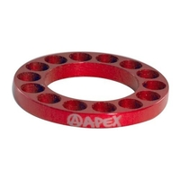 APEX SCOOTER BAR RISER SPACER - RED 5MM