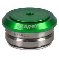 APEX INTEGRATED SCOOTER HEADSET - GREEN