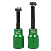 APEX SCOOTER PEGS - BARNAYNAY - GREEN