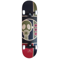 "ALIEN WORKSHOP COMPLETE SKATEBOARD 8.0"" - GAS MASK"