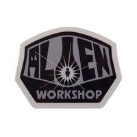 ALIEN WORKSHOP SKATEBOARD STICKER OG - BLACK GREY X 1