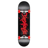 BIRDHOUSE - LEVEL 1 BLOOD LOGO COMPLETE SKATEBOARD - 8