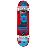 BIRDHOUSE - LEVEL 1 OPACITY RED COMPLETE SKATEBOARD - 8