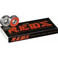 BONES REDS SKATEBOARD SCOOTER BEARINGS 8 PACK - GENUINE