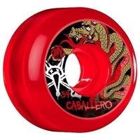 BONES SKATEBOARD WHEELS - CABALLERO DRAGON SPF RED - 54MM
