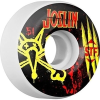 BONES SKATEBOARD WHEELS - JOSLIN EX MEN STF V2 - 51MM