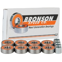 BRONSON G2 SKATEBOARD BEARINGS 8PK