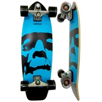 CARVER SKATEBOARD COMPLETE - DA MONSTA WITH C7 TRUCKS SILVER