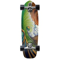 CARVER SKATEBOARD COMPLETE - GREENROOM WITH C7 TRUCKS SILVER