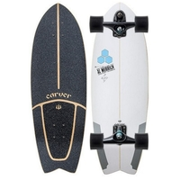 CARVER SKATEBOARD COMPLETE - CHANNEL ISLANDS POD MOD - C7 TRUCKS BLACK