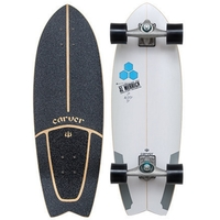 CARVER SKATEBOARD COMPLETE - CHANNEL ISLANDS POD MOD - CX TRUCKS BLACK