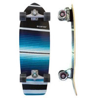 CARVER SKATEBOARD COMPLETE - SERAPE WITH C7 TRUCKS SILVER
