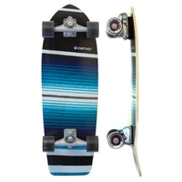 CARVER SKATEBOARD COMPLETE - SERAPE WITH CX TRUCKS SILVER