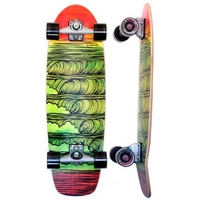 CARVER SKATEBOARD COMPLETE - STACKED WITH C7 TRUCKS SILVER