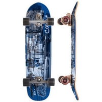 CARVER SKATEBOARD COMPLETE - VENICE BLUE WITH C7 TRUCKS SILVER