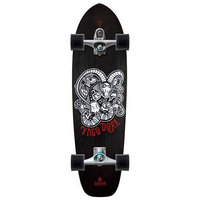 CARVER SKATEBOARD COMPLETE - YAGO DORA WITH C7 TRUCKS SILVER