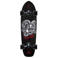 CARVER SKATEBOARD COMPLETE - YAGO DORA WITH CX TRUCKS BLACK