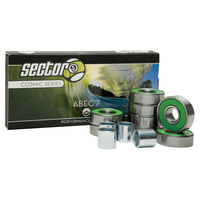 SECTOR 9 COSMIC BEARINGS ABEC 7 SET OF 8