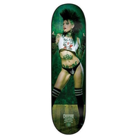 CREATURE SKATEBOARD DECK - BABES PLAYING CARDS MALICE - 8
