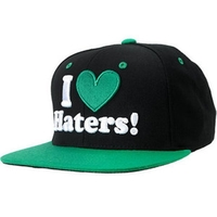 DGK HAT CAP - BLACK GREEN - SNAPBACK ADJUSTABLE