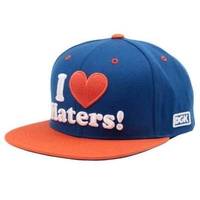 DGK HAT CAP - NY BLUE ORANGE - SNAPBACK ADJUSTABLE
